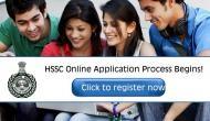 HSSC Recruitment 2019: Good news! Application process begins for 2978 vacancies; apply now