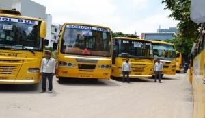 Noida Police: Over 400 school buses fined for not having adequate safety measures