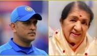 Lata Mangeshkar's heartfelt message to MS Dhoni on his retirement speculations