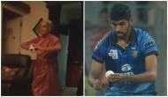 Video: Old lady mimics Jasprit Bumrah's bowling action and makes his day