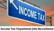 Income Tax Recruitment 2019: New vacancies released for Multi Tasking Staff and Tax Assistant; here's how to apply
