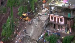 भारी बारिश से सोलन में गेस्टहाउस की इमारत ढही, 6 जवानों सहित 7 की मौत, रेस्क्यू ऑपरेशन जारी