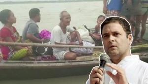 बाढ़ से देश के 5 राज्यों में तबाही, राहुल गांधी ने कांग्रेस कार्यकर्ताओं को दिया बचाव कार्य का निर्देश