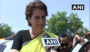 Sonbhadra victims' kin came to meet me but prevented by police: Priyanka Gandhi