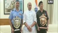 Rajnath Singh awards Raksha Mantri Trophy for Best, Second Best Command Hospitals of AFMS