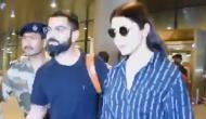 Watch: Virat Kohli returns from London with wife Anushka Sharma