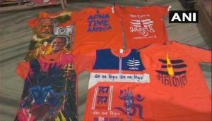 Varanasi: Shops decked up for Kanwar Yatra, excitement among youth for Modi-Yogi t-shirts