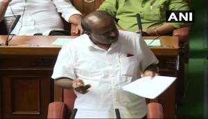 Karnataka Crisis: Security beefed up around Vidhana Soudha ahead of trust vote