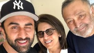 Ranbir forced me into aircraft and flew me to NY: Rishi Kapoor