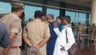 TMC delegation on its way to Sonbhadra stopped at Varanasi airport, prevented from meeting victims' kin