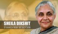 शीला दीक्षित का 81 साल की उम्र में निधन, लंबे समय से थीं बीमार