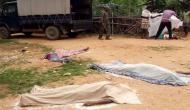 झारखंड के गुमला में चार लोगों की पीट-पीटकर हत्या, गला काटकर उतारा मौत के घाट