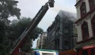 मुंबई में ताजमहल होटल के पास इमारत में लगी आग, एक की मौत 14 लोगों को बचाया गया
