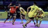 प्रो-कबड्डी लीग 2019: यू-मुंबा ने की धमाकेदार शुरूआत, अभिषेक सिंह ने लगाया सुपर 10