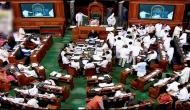 Opposition MPs walk out of Lok Sabha on Trump issue