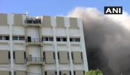 Mumbai: Fire breaks out in MTNL building in Bandra; around 100 people trapped