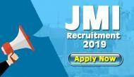 JMI Recruitment 2019: Vacancies released for Assistant Professor, Associate Professor, other posts; apply now