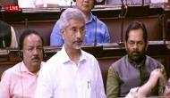 India did not request Trump to mediate on Kashmir: EAM Jaishankar tells Rajya Sabha