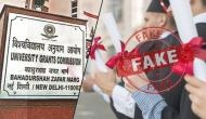 Beware! These universities can spoil your career; UGC releases list of fake academic institute