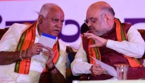B S Yeddyurappa thanks Amit Shah for extending support