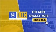 LIC ADO Result 2019: Released! Here's how to check Apprentice Development Officers prelims result at licindia.in