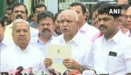 येदियुरप्पा आज ही लेंगे मुख्यमंत्री पद की शपथ, राज्यपाल से मुलाकात कर सरकार बनाने का किया दावा