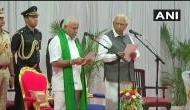 कर्नाटक: येदियुरप्पा ने ली मुख्यमंत्री पद की शपथ, दक्षिण में फिर लहराया भगवा झंडा
