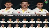 एशेज सीरीज के लिए आस्ट्रेलियाई टीम घोषित, बॉल टेंपरिंग करने वाले तीनों खिलाड़ी को मिली जगह