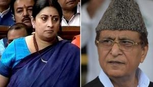 Smriti Irani condemns Azam Khan's sexist remark against Rama Devi and says, 'We cannot remain silent spectators'