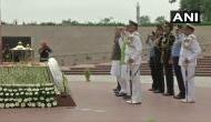 Kargil Vijay Diwas: Rajnath Singh pays tribute at National War Memorial