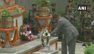 President Kovind pays tribute to Kargil war heroes at Srinagar's Badami Bagh Cantonment