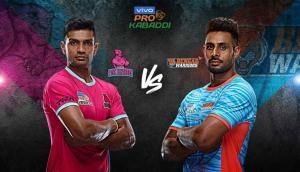 प्रो- कबड्डी लीग 2019: जयपुर पिंक पैंथर्स और बंगाल वॉरियर्स में होगी कांटे की टक्कर