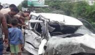 उन्नाव रेप कांडः ट्रक ने मारी कार में टक्कर, पीड़िता की हालत गंभीर, BJP विधायक है आरोपी