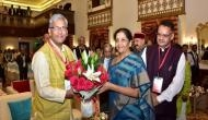 Nirmala Sitharaman, others arrive for 'Conclave of the Himalayan States' in Mussoorie