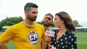 Video: युवराज सिंह ने ऑस्ट्रेलियाई खिलाड़ी के लिए मजे, कैमरे पर पूछ लिया ये सवाल