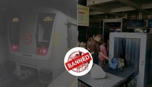 Do you know these items are banned to carry in Delhi Metro? Check the list