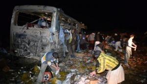 बलूचिस्तान में पुलिस बस में जबरदस्त बम धमाका, पांच लोगों की मौत 38 घायल