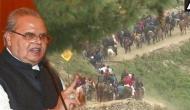 जम्मू-कश्मीर: सरकार ने जारी की सलाह, जल्द से जल्द कश्मीर खाली कर दें अमरनाथ यात्री, वरना..