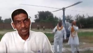 Government school retired peon borrowed Rs 3 lakh to live his helicopter dream