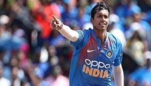 Indian pacer Navdeep Saini fined for violating ICC's code of conduct
