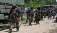 J-K: Terrosist killed in encounter with security forces in Sopore; army man injured