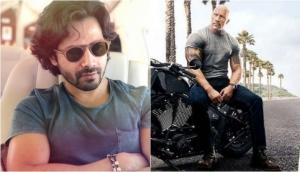 A user trolls Varun Dhawan for promoting Dwayne Johnson's Hobbs and Shaw; Kalank actor comes with an epic reply