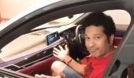 Sachin Tendulkar awestrucked as his car parks on its own-see video
