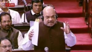 Amit Shah in Lok Sabha: PoK, Aksai Chin part of Jammu and Kashmir