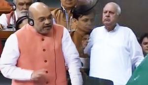 अमित शाह बोले- फारुख अब्दुल्ला की कनपटी पर बंदूक लगाकर नहीं बुला सकते संसद, वह अपने घर पर हैं