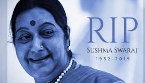 Delhi govt declares 2-day mourning over Sushma Swaraj's demise