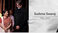 Sushma Swaraj: From Amitabh Bachchan to Lata Mangeshkar condole's former EAM's demise