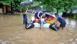 Karnataka rains: Navy rescues 300 people stranded near Kadra Dam