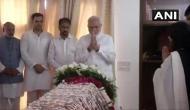 PM Modi visits Sushma Swaraj's residence, pays tributes