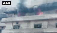Punjab: Massive fire breaks out in Trimurti Hosiery Mills, Ludhiana